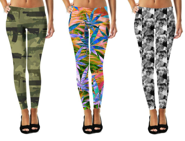 #stuph4kewlkidz #leggings #fashion #fallfashion #clothing #urbanstyle #urbanfashion #streetstyle #guns #camo #weedleaf #cannabisculture #hightimes #girlswithtattoos #trapstyle #fashion